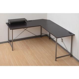L型パソコンデスク & 子供用学習椅子