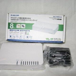 100BASE-TX対応スイッチングハブ