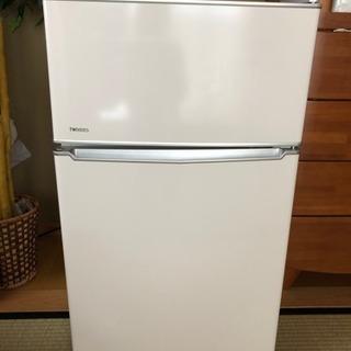 2ドア 冷凍冷蔵庫  ツインバード工業 保証付きの画像