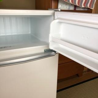 2ドア 冷凍冷蔵庫  ツインバード工業 保証付き - 松本市