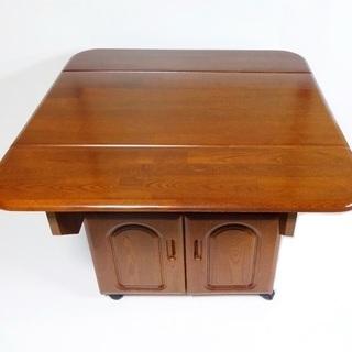 バタフライ式 ダイニングテーブル キッチンテーブル テーブル