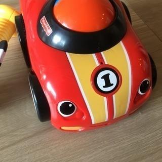 フィッシャープライス くるまのおもちゃ レーシングカー