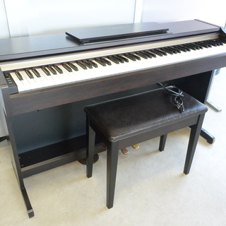 YAMAHA 電子ピアノ ヤマハ YDP-123 イス付 動作O...