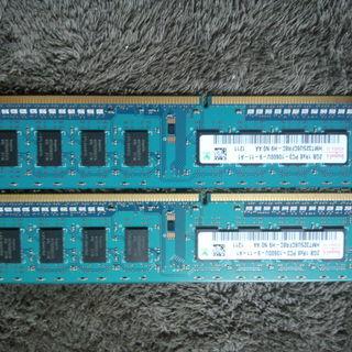 デスクトップ用メモリ2GiB×2枚PC3-10600(DDR3-...