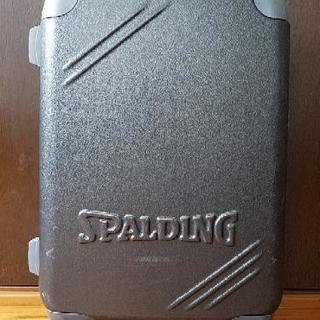【難有り】SPALDING スーツケース
