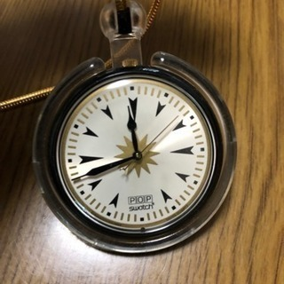 swatchの懐中時計