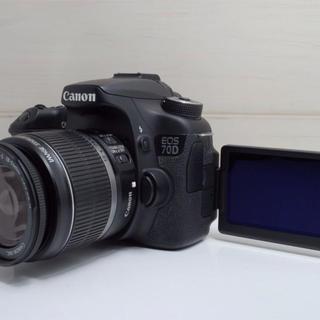 【大人気!】Canon EOS 70D 18-55mm IS