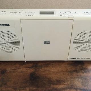 TOSHIBA  CDラジオ