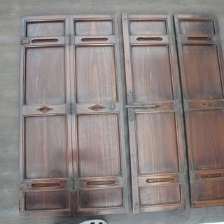 古民家の建具 観音開き扉