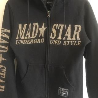 美品 MAD STAR パーカー  M