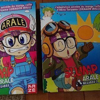アラレちゃん  MEGABOX 1.2 DVDセット