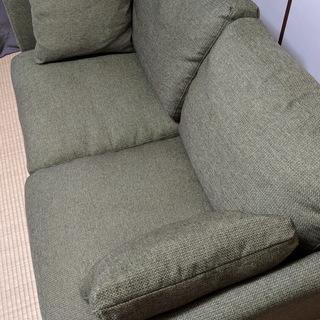 【無料】ニトリ2人掛けソファー