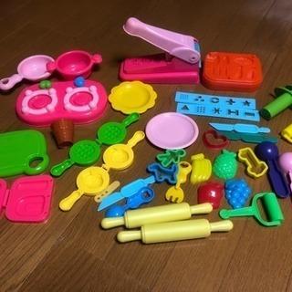ねんど 型セット、道具たくさん色々。