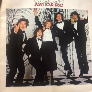ポールマッカートニー  WINGS 1980年 幻の日本公演 ツ...