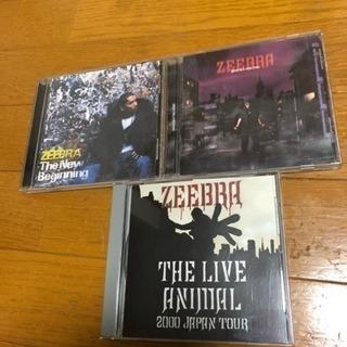 ZEEBRA  CD3枚セット