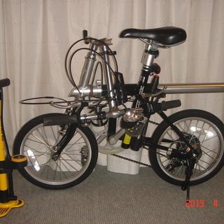[引取限定](中古品)変わり種折り畳み自転車