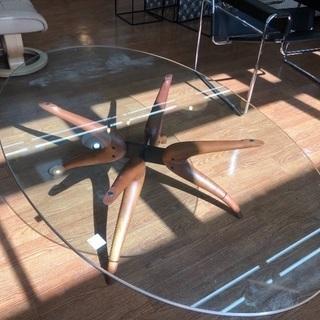 アクタス取扱 poradaのガラステーブル!特価提供です!