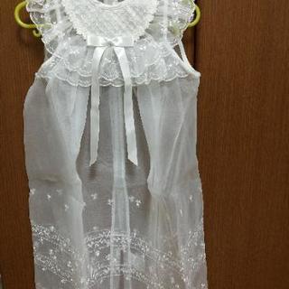 【値下げ!超美品!】ミキハウス ベビードレス