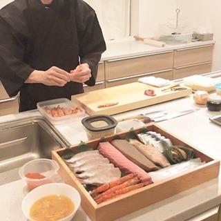 【江戸前出張寿司】格安で出張寿司承ります