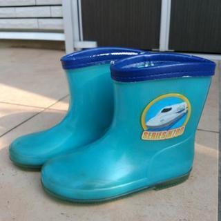 プラレール新幹線 長靴(17cm)