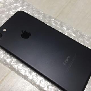 送料無料 simフリー iPhone7ブラック128GB