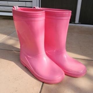 ピンク色の長靴(20㎝)