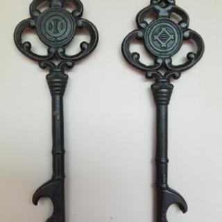 アンティーク 昔の金庫の鍵