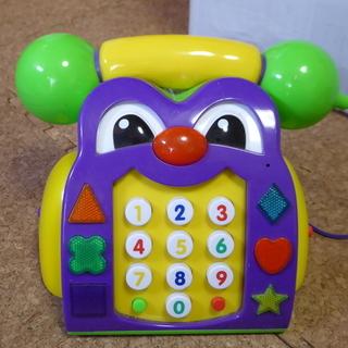 英語を教えてくれる オモチャ電話!