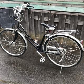 カマキリ型ハンドル、ママチャリ自転車