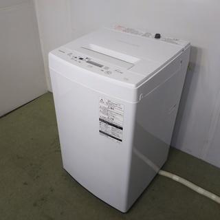 TOSHIBA 東芝 電気洗濯機 4.5kg AW-45M5 2...