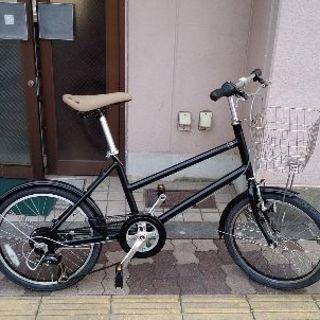 maruishi 20吋アルミフレームのミニベロ(小径車) 6sp...
