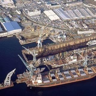 造船足場員急募 外国人歓迎  30万以上可能 寮完備