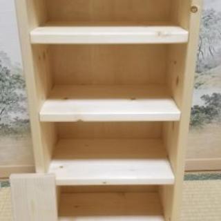 手作り棚 (子供・ペットに優しい丸角・くるみ油仕上げ)
