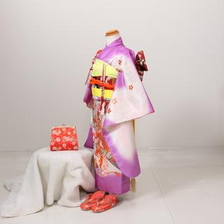 (C)七五三着物五歳女の子用セット