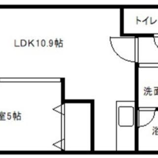 ‼️東札幌築浅1LDK‼️