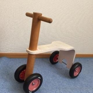 木製三輪車