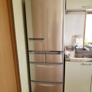 日立 冷蔵庫 5ドア415L ビック&スリム 2014年