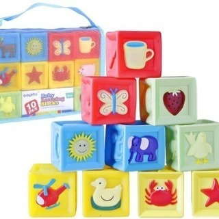 新品 積み木赤 ちゃんおもちゃ 音の出る積み木 想像力を育…