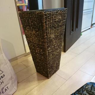 アジアン 鉢カバー トール 縦長形 観葉植物
