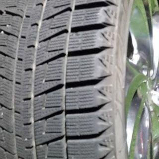 最終値下げです! 中古 BLIZZAK REVO 2 / 17.5inch スタッドレスタイヤ4本 クロムホイール付 - 小平市