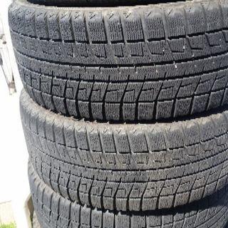 最終値下げです! 中古 BLIZZAK REVO 2 / 17.5inch スタッドレスタイヤ4本 クロムホイール付 - 車のパーツ