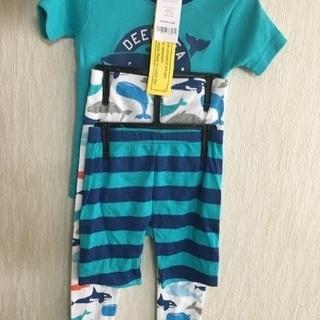 コストコ カーターズ 男の子用 パジャマ 3点セット 新品 綿100%