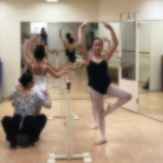 土曜の午前中のバレエ