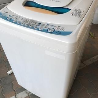 東芝 洗濯機 6kg 風乾燥