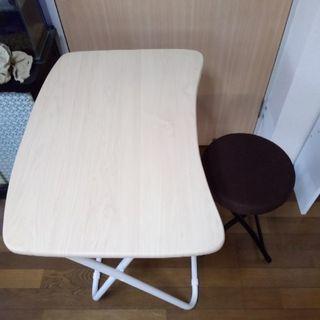 折り畳み式のテーブル&イス
