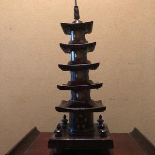 五重の塔  ランプ