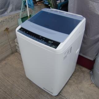 2015年日立 インバーター制御8K全自動洗濯機 中古