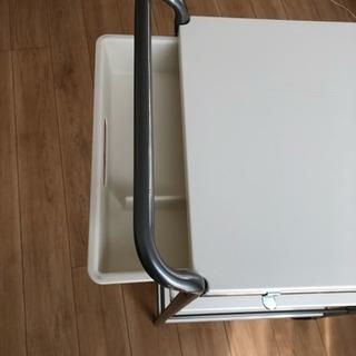 【組立済】【車でのお引取り限定】IKEA BYGEL キッチンワ...