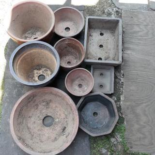 植木鉢 9個