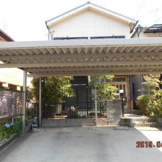 中古住宅 土地約40坪 南向き 木造瓦葺き2階建て 約30坪 車庫...